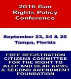 Gun Rights Policy Confrence